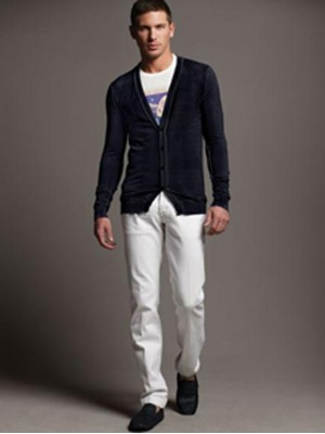Modern White Jeans