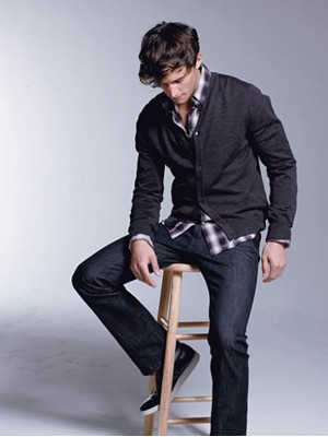 Fashionable Black Cardigan